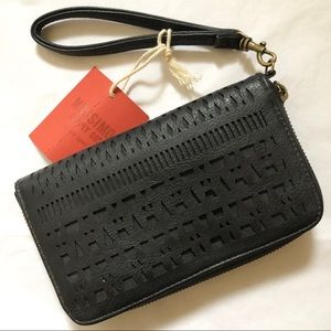 Mossimo Faux Leather Wristlet/Wallet